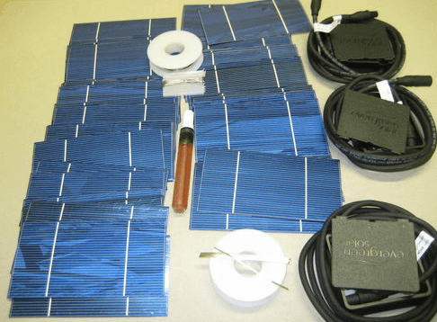 Как в домашних условиях сделать солнечные батареи