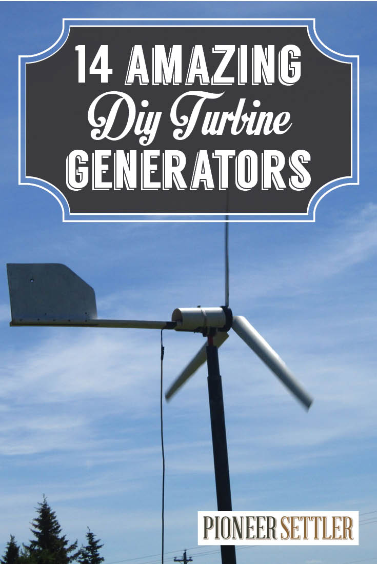 Diy Wind Turbine The 14 Coolest Generators To Make For