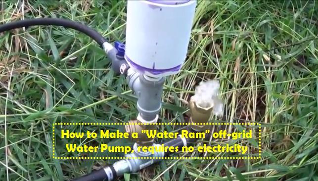 Water_Ram_off-grid_Water_Pump